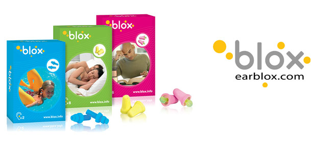 Blox - Creating a brand name and graphic identity for earplugs