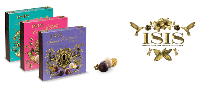 Isis 2010 - Italo Suisse - Creating a completely new positioning for the Isis chocolates brand