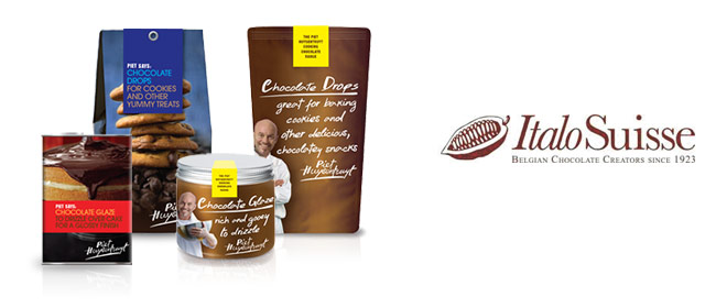 Piet Huysentruyt - Italo Suisse - Creating a Piet Huysentruyt packaging for cooking chocolate